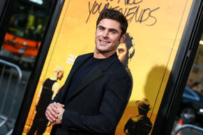 "Zac Efron attends the LA Premiere of ""We Are Your Friends"" held at TCL Chinese Theatre on Thursday, Aug. 20, 2015, in Los Angeles. (Photo by John Salangsang/Invision/AP)"