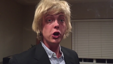 Fantastic impression of actor Owen Wilson