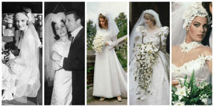 <p>​Let's embark on a 100-year journey through the history of nuptials, shall we?​</p>