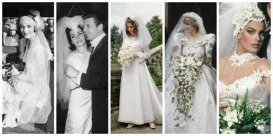 <p>​Let's embark on a 100-year journey through the history of nuptials, shall we...