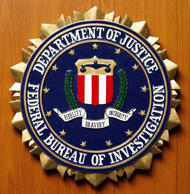 File photo of the logo of the Federal Bureau of Investigation.
