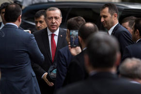 Erdoğan remains as popular and powerful as ever – his Islamist AK party won an absolute majority in recent parliamentary elections