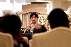 Pakistan Interior Minister Chaudhry Nisar Ali Khan speaks during a press conference in Islamabad, Pakistan, Sunday, Dec. 6, 2015.