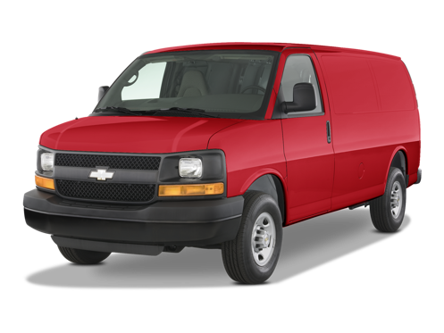 Slide 1 of 17: 2014 Chevrolet Express Cargo