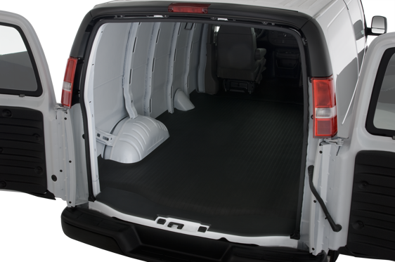 Slide 1 of 24: 2014 Chevrolet Express Cargo