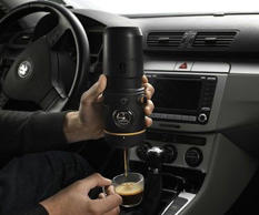 "<p>Why make a long stop at a local coffee shop when you can make an espresso in your own car?! </p><p>See the <a href=""https://fr.pinterest.com/pin/275704808408164270/"">pin</a></p>"