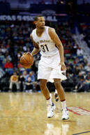 New Orleans Pelicans guard Bryce Dejean-Jones (31) during the first half of an N...