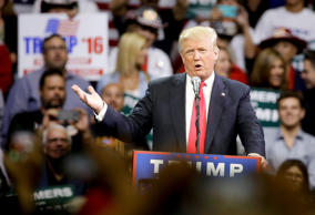 Donald Trump, who sailed through the Republican primaries using unconventional c...
