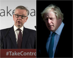 Tory civil war: Gove and Johnson savage PM over Brexit 'apocalyptic warnings'