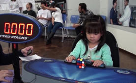 Three-Year-Old Nails Rubik's Cube in 47 Seconds