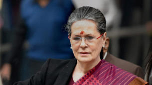 It's a conspiracy, says Sonia Gandhi on charges against Robert Vadra: Congress President Sonia Gandhi (Source: PTI)