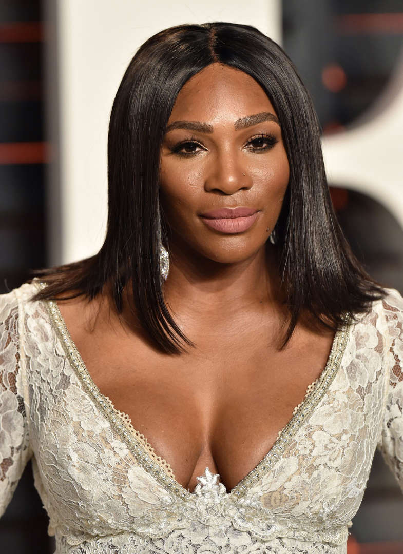 Slide 15 of 100: Tennis player Serena Williams arrives at the 2016 Vanity Fair Oscar Party Hosted By Graydon Carter at Wallis Annenberg Center for the Performing Arts on February 28, 2016 in Beverly Hills, California.