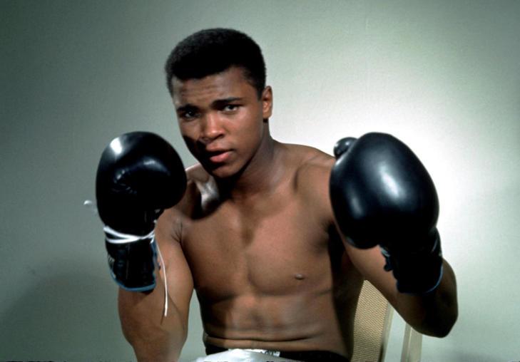 Ali posa en una de sus fotos más célebres Foto: Reuters