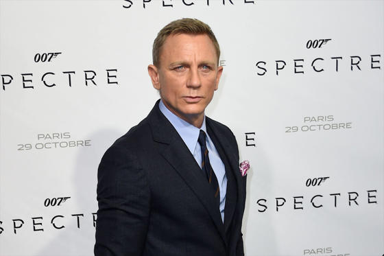 Slide 1 of 23: James Bond 'Spectre' film premiere, Paris, France - 29 Oct 2015 Daniel Craig