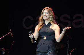 Cassadee Pope onstage in Bentonville, Ark., on May 4, 2016.