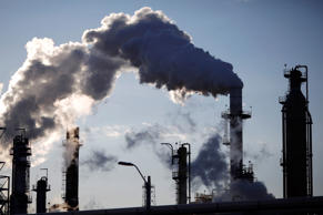 Emissions rise from oil refinery (Photo for representational purposes only)