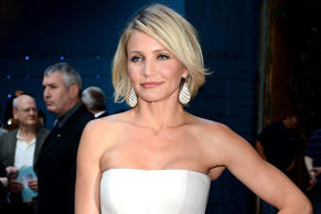 Cameron Diaz has said she won't wear boob tubes now she's over 40 CREDIT: GETTY