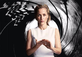 Gillian Anderson features as Jane Bond in this mocked-up 007 poster posted by th...