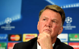 File photo dated 29-09-2015 of Manchester United manager Louis van Gaal.