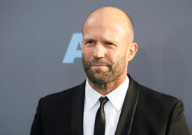 Actor Jason Statham arrives at the 21st Annual Critics' Choice Awards in Santa Monica, California January 17, 2016