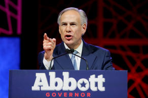 Texas Gov. Greg Abbott speaks during the opening of the Texas Republican Convention Thursday, May 12, 2016, in Dallas.