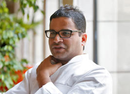 File: Prashant Kishor, political strategist of India's main opposition Congress party, is pictured at a hotel in New Delhi, India May 15, 2016.