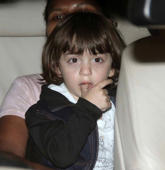 Shah Rukh's son AbRam tap dances