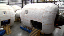 Astronauts Attempt To Deploy First Expandable Habitat In Space