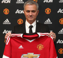 Jose Mourinho presented as Manchester United