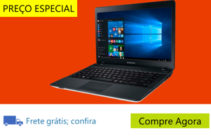 "Notebook Samsung Essentials E21 370E4K-KWB com Intel® Dual Core, 4GB, 500GB, Gravador de DVD, Leitor de Cartões, HDMI, Bluetooth, LED 14"" e Windows 10"