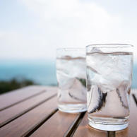 Other than oxygen, your body needs water more than any other substance, including food, just to survive. Because water flushes toxins and waste products from your body, you feel more energized and alert when you're fully hydrated, and most of us often aren't. Usually 8 to 10 glasses (8 oz) will do the trick; try these naturally flavored water recipes to start. Just don't overdo it—too much water can be harmful, too.And skip the ice when you're drinking water between meals; your body uses energy to warm the ice, diluting important digestive enzymes.