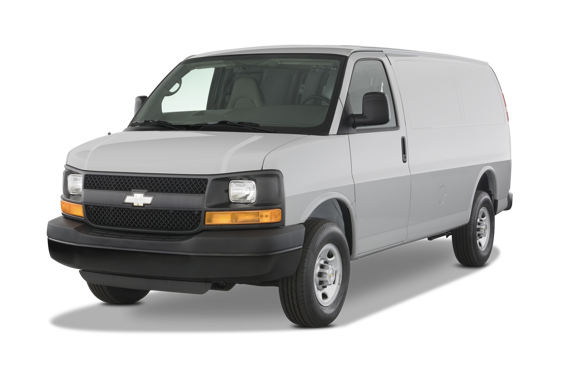 Slide 1 of 25: 2014 Chevrolet Express Cargo