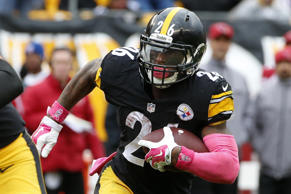Pittsburgh Steelers running back Le'Veon Bell.