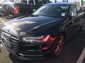 This Audi is among the cars still missing after a heist on Auckland's North Shore.