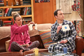 Penny (Kaley Cuoco) and Sheldon Cooper (Jim Parsons).