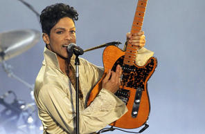 In this file photo, U.S. musician Prince performs in Britain at the Hop Farm Festival near Paddock Wood, southern England July 3, 2011.