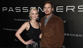 Chris Pratt talks about his sex scene with Jennifer Lawrence