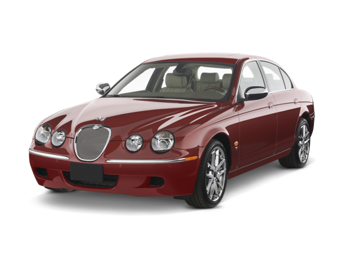 Slide 1 of 14: 2008 Jaguar S-TYPE