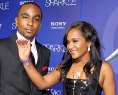 Bobbi Kristina Brown, daughter of the late singer Whitney Houston, arrives with boyfriend Nick Gordon at the premiere of the new film 'Sparkle' in Hollywood August 16, 2012.