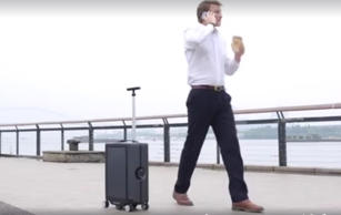 world's first autonomous suitcase