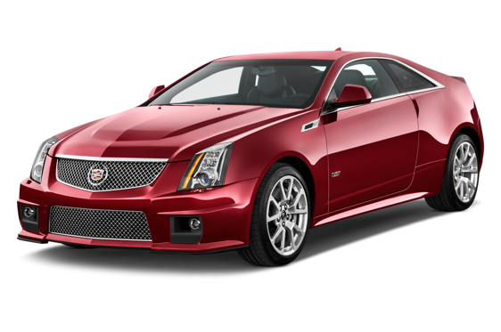 Slide 1 of 14: 2014 Cadillac CTS-V Coupe