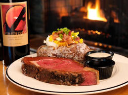 At Firebirds Wood Fired Grill in Newark, get the filet, steak salad, or beef sho...