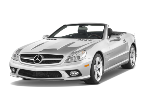Slide 1 of 14: 2009 Mercedes-Benz SL-class