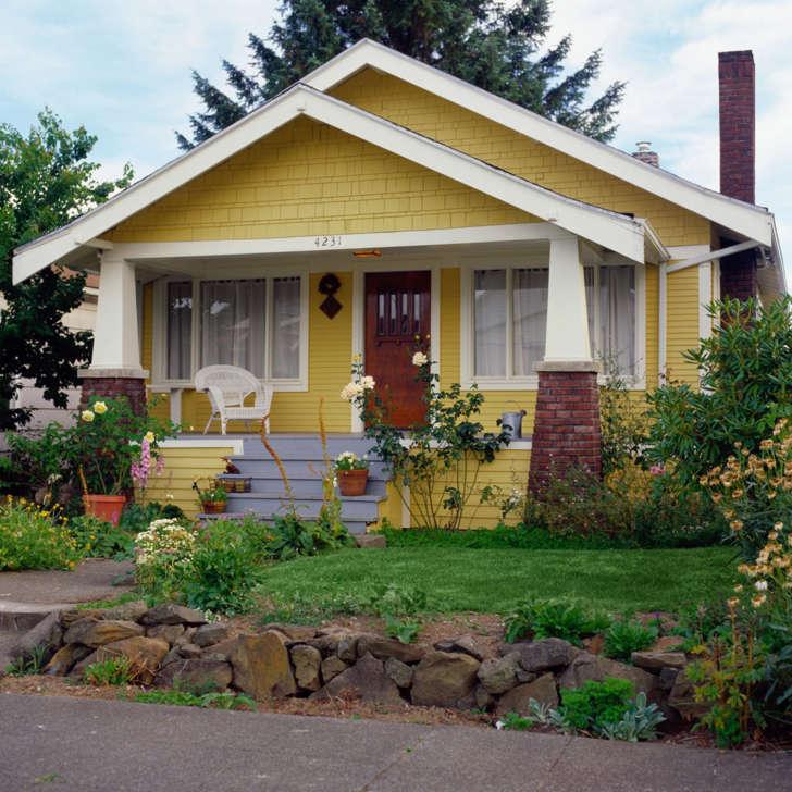 yellow bungalow