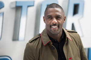 British actor Idris Elba poses for photographers upon arrival at the premiere of the film 'Star Trek Beyond' in London, Tuesday, July 12, 2016.
