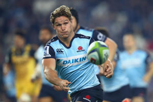 Waratahs captain Michael Hooper
