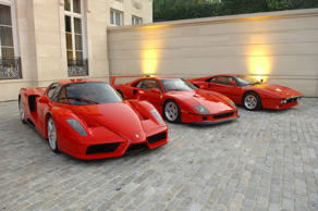 Atmosphere at Ferrari 458 Italia Brings Funds for Haiti Relief at Fleur de Lys o...