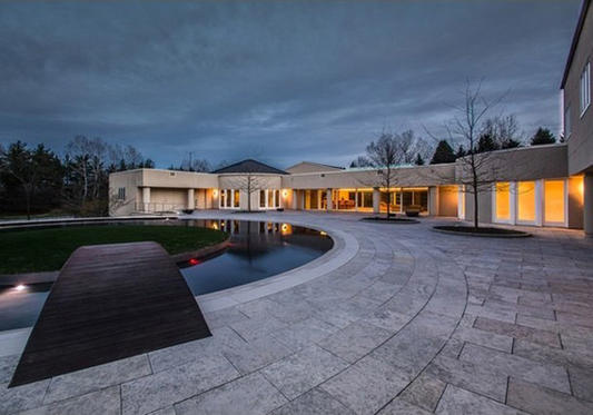 Michael Jordan's home.