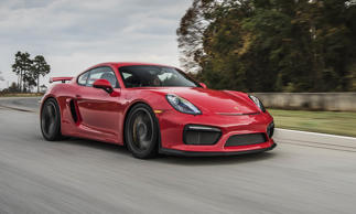 "MSRP: $84,600<br>The Porsche Cayman is an absolute joy to drive, but the GT4 turns things up a notch — several notches, actually. Porsche calls it the ""fastest and most performance-oriented Cayman ever,"" and we certainly wouldn't disagree. Chassis and brakes are basically taken from the 911 GT3, and the downforce generated by the front spoiler and rear wing provides exceptional handling."