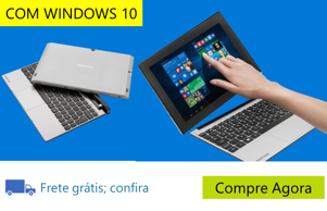 "Notebook 2 em 1 Touch Positivo Duo ZX3040 com Intel® Atom™ Quad Core, 1GB, 16GB SSD, Leitor de Cartões, Mini HDMI, Bluetooth, LED 10.1"" e Windows 10"